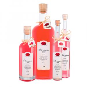 Pink Grapefruit Likör Gruppenbild